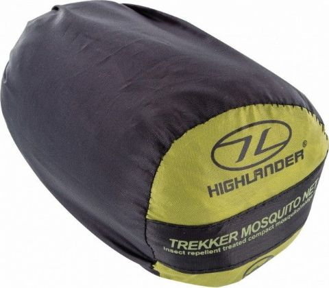 Highlander  Lightweight Travel Mosquito Net - Wedge / Bell Shape